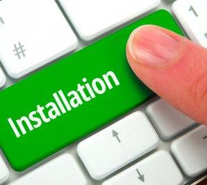 new ac unit install