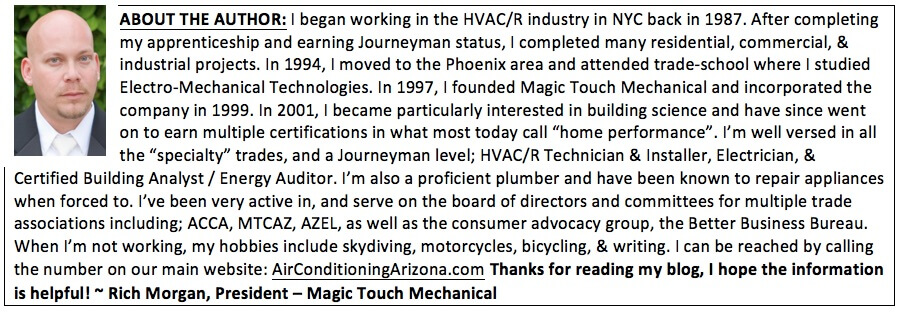 about rich morgan president magic touch mechanical