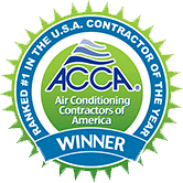 ACCA NATIONAL Residential HVAC Contractor of the Year