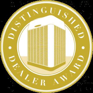 trane distinguished dealer award
