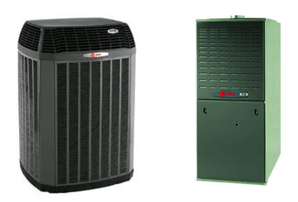 Trane XV20i with Trane XC80 | AC and Gas Furnace