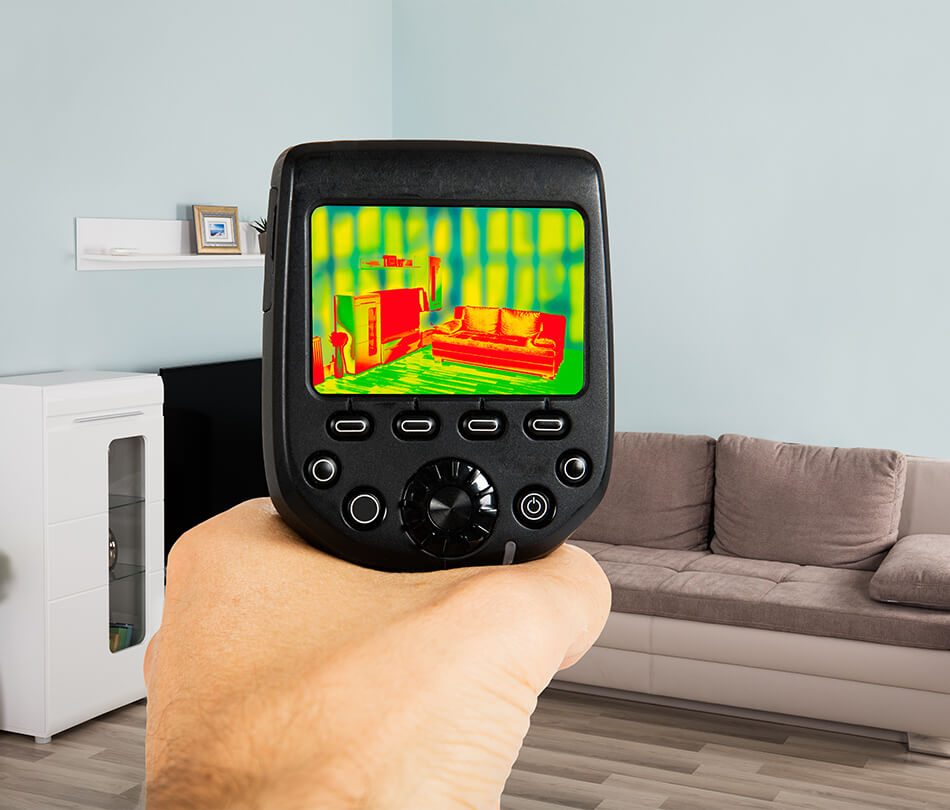 energy audit infrared scan