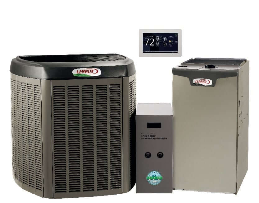 Lennox XC25 with Lennox SL280V | AC and Gas Furnace