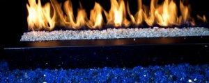 fireplace burner pan replacement