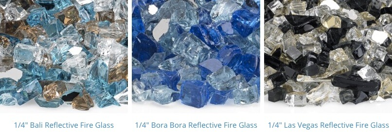 pre mixed fire glass 7-9