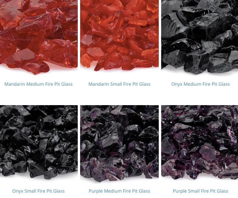 recycled fire pit glass 13-18