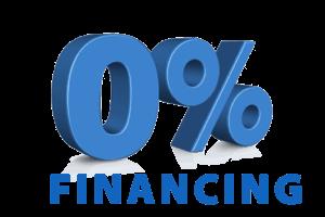 no interest financing