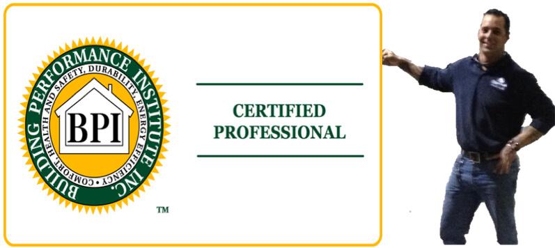 bpi certified energy auditor