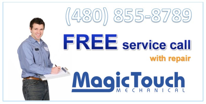 free ac service call phoenix az area