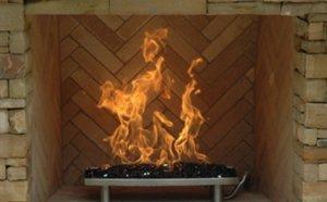 fire pit burner pan