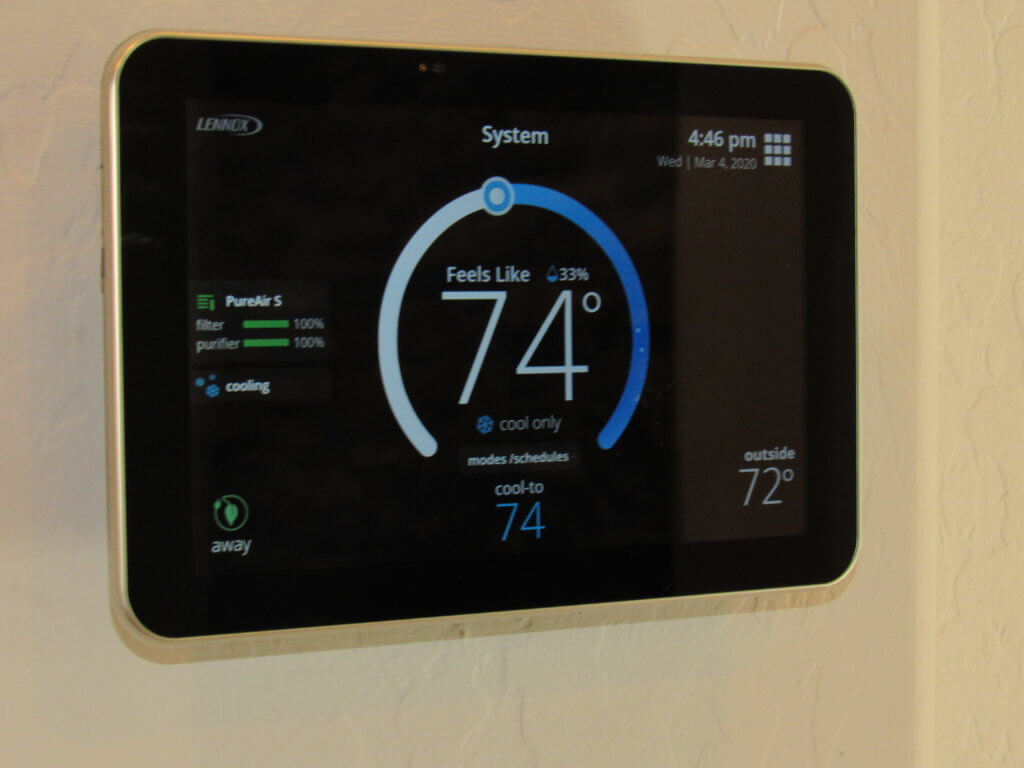 ultra smart wifi thermostat
