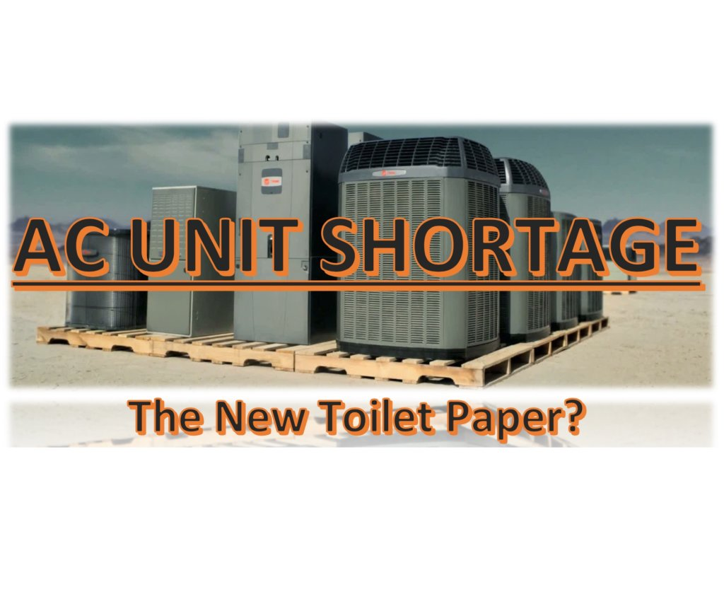 ac unit shortage